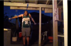 WATCH: Man deserves to fall on arse