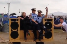 Police officers get down to 'Sound Of Da Police'