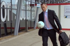 You won't see a better video of a GAA team in an airport today