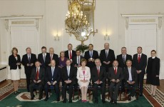Taoiseach and new cabinet reduce pay in first act of new government