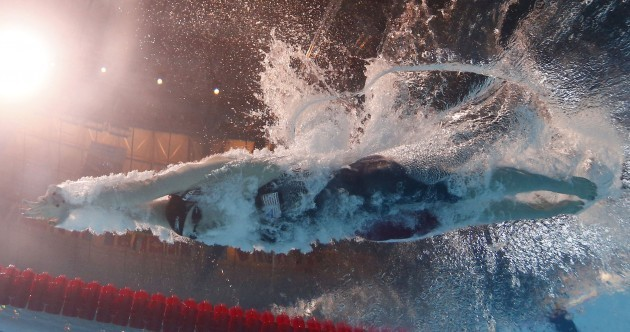 16-year-old Ledecky unfazed after breaking 4 minute mark in 400m freestyle