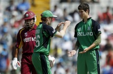 As it happened: Ireland v West Indies