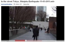 Eyewitness videos record shocking extent of Japan's earthquake and tsunami