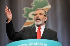 Gerry Adams: The institutions of the State have their backs to the border