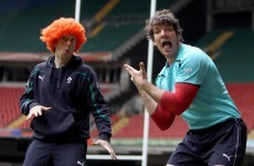 Experts fancy Irish to come out on top in Wales