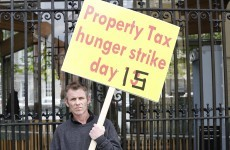 Property tax hunger striker wants to block returning TDs from entering Dáil