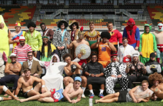 Saracens' new spin on boring old team photos is just fantastic