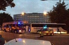 Dublin hotel evacuated as fire breaks out on sixth floor