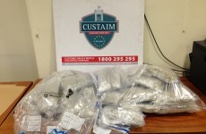 Five arrested and €316,000 of herbal cannabis seized by Revenue