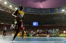 Here's the story behind that once-in-a-lifetime Usain Bolt lightning photo
