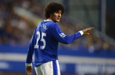 Martinez relieved to see Fellaini clause expire