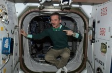 Commander Chris Hadfield is coming to Ireland