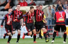 Airtricity League wrap: Bottom side Bohs beat Rovers in Dublin derby