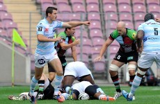 Jonny Sexton hauled off as Racing Metro start season with a win