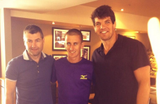 World champion Rob Heffernan toasted in Cork by Dinny and DOC