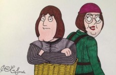 What if Game of Thrones was made up of the cast of Family Guy?