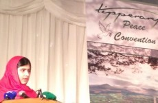 'It's a long way to Tipperary, it's a long way to peace': Malala accepts peace prize