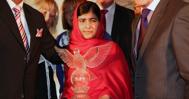 'I don't want to be the girl who was shot by the Taliban – I want to be the girl who fought for the rights of every child'