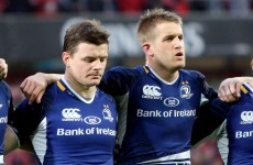 Fitzgerald and Macken ready to lighten O'Driscoll's Leinster load