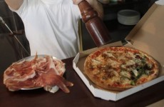 'Bunga Bunga' pizza satirises Berlusconi scandal
