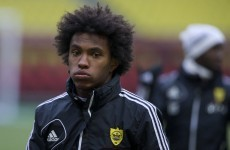 Willian is officially a Chelsea player