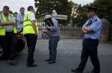 PICS: Locals lock themselves inside Kildare farm to prevent repossession