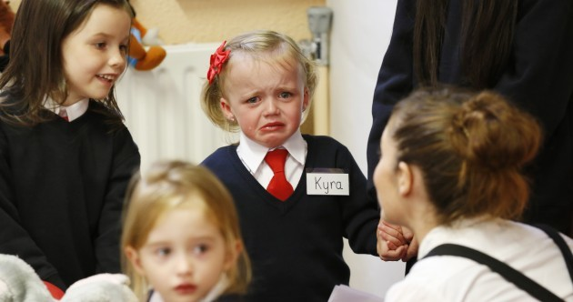 PICS: First day of school smiles, tears and tantrums