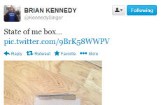Tweet Sweeper:  Brian Kennedy shows us his box