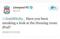 Liverpool apologise after Twitter account jokes about Munich disaster