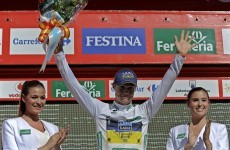 Nicolas Roche says leading Vuelta is 'like a dream'