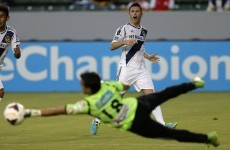 Robbie Keane scores a brilliant volley as LA Galaxy win 3-0
