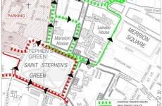 Major changes due for St Stephen's Green traffic