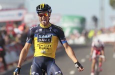 Vuelta hopes fading for Nicolas Roche as he drops back to 3rd