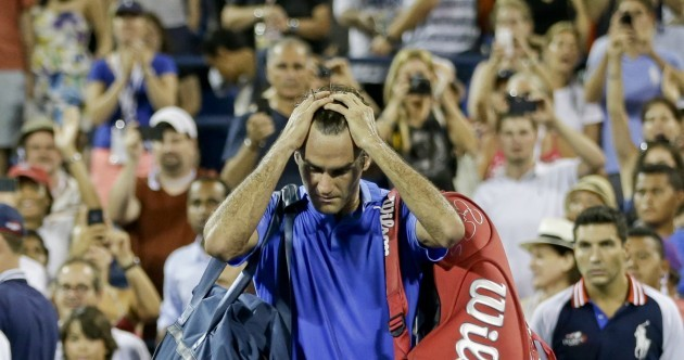 Roger Federer watches his era sadly slip away