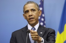'The world set a red line on Syria, not me' – Obama
