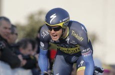 Nicolas Roche back up to second overall at Vuelta after time trial efforts