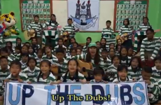 The Thai Tims are supporting the Dubs with their version of Molly Malone