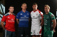 Full Pro12 line-ups for the Irish provinces this weekend