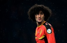 Manchester United are good enough to win trophies, says Marouane Fellaini