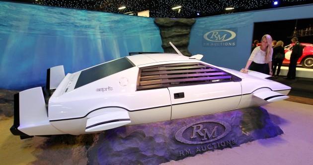 Fancy owning James Bond's submarine car?