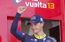 Nicolas Roche moves up to 5th on good day at the Vuelta