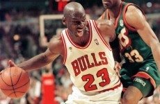 Action replay: when Jordan laced up his basketball shoes again