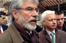 Watch: Gerry Adams talks the Seanad, Dáil reform and Budget 2014