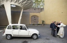 This nearly 30-year-old car is set to replace the Popemobile*