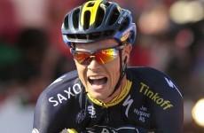 American Chris Horner wins Vuelta, as Nicolas Roche ...