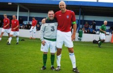 Ireland's Over 40s downed by Czech great Jan Koller