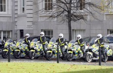 Garda escort bikes out of action for two months