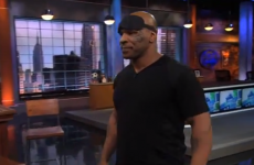 'I'm a Shaolin Monk': Mike Tyson is lethal at blindfolded darts