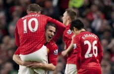 Van Persie and Rooney take buddy roadshow to cross-city rivals