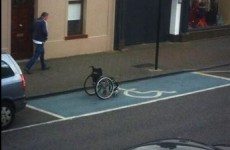 Is this is the most Irish parking space ever?